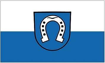 Flagge Fahne Brühl Baden Hissflagge 90 x 150 cm