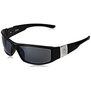 NHL Winnipeg Jets Adult Chrome Wrap Sunglasses, Black