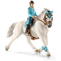 Schleich - 42111 - Figurine Animal - Cavalière De Compétition