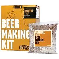 Brooklyn Brewshop - 1 Gallon Beer Making Starter Kit - Oatmeal Stout