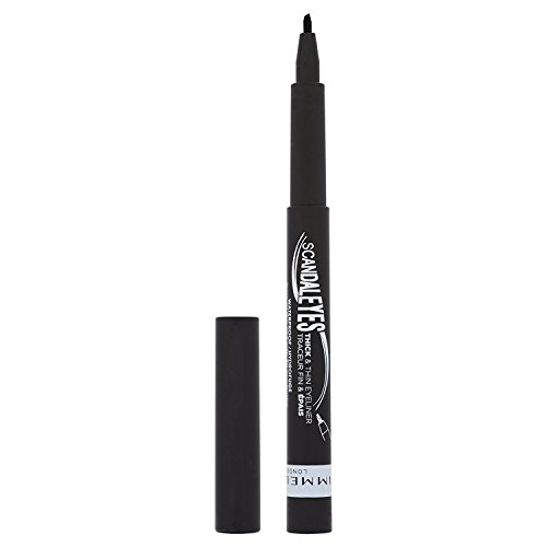 Rimmel London Scandaleyes Thick and Thin Waterproof Eyeliner 001 Black
