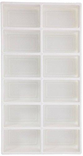 SE J1112 12 Section White Liner Tray 13-3/4