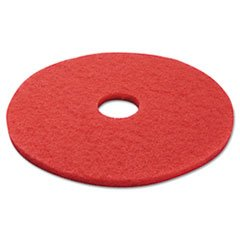 Premiere Pads PAD 4017 RED Std Flr Buff Pad 17 In Red 5