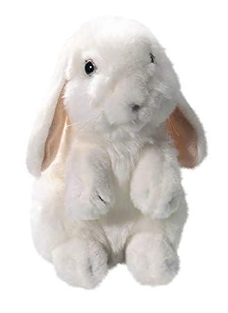 Carl Dick Liebre, Conejo de pie Color blanco, nieve Conejo de peluche (aprox