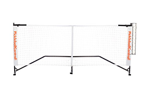 PickleballCentral Rally Portable Pickleball Net System with Ball Holder
