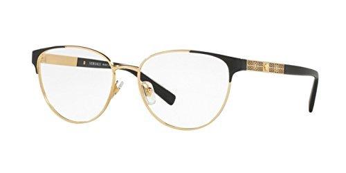 Amazon.com: Versace VE1238 Eyeglass Frames 1002-54 - 54mm Lens ...