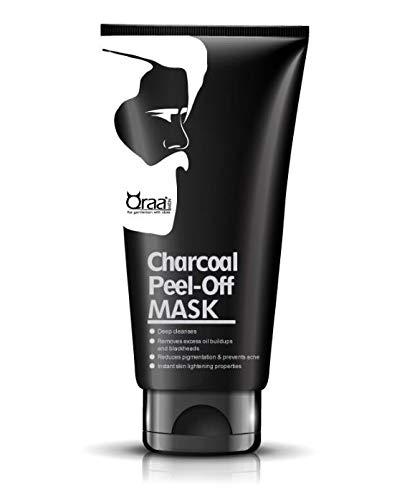 Qraa Men Charcoal Peel Off Mask for Men, 50g