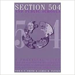 A Parents Guide To Section 504 In >> Section 504 And Public Schools A Practical Guide For Determining