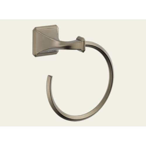 Brizo 694630 Wall Mount Towel Ring from the Virage Collection, Brushed Nickel durable modeling