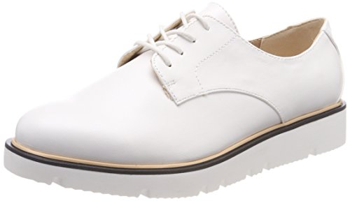 Derby Donna Scarpe Up BIANCO Shoe 80 White Laced Bianco Stringate qAXSnRx