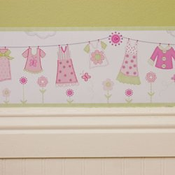 - Clothes Line - Wall border: 10 Yards