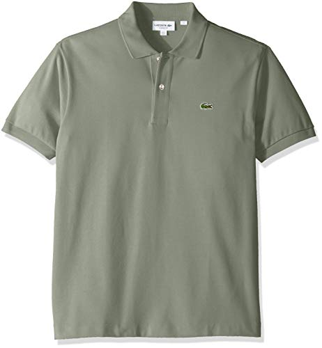 Lacoste Men's Classic Short Sleeve L.12.12 Pique Polo Shirt,Ryegrass Green,X-Small