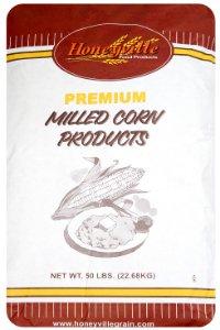 Yellow Corn Flour - 50 Pound Bag - Bag Yellow Corn