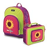 Crocodile Creek Sunflower Backpack Lunchbox Set Toy