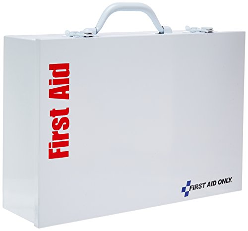 Station First Industrial Aid - Pac-Kit by First Aid Only 2 Shelf Industrial First Aid Station, 9.18 Pound