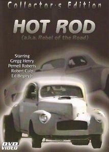 Hot Rod-(A/K/A Rebel of The Road) DVD Movie -Starring Robert Culp & Gregg Henry