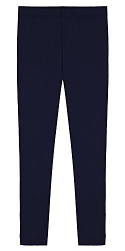 otton Ankle Length Leggings - Navy - 12 ()