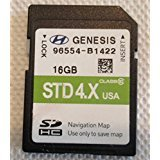 B1422 2014 2015 Hyundai GENESIS Navigation MAP Sd Card ,GPS UPDATE , U.S.A OEM PART # 96554-B1422 STD 4X OEM PART