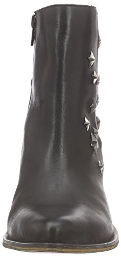Buffalo London 3942 Leather - Botines Mujer Negro