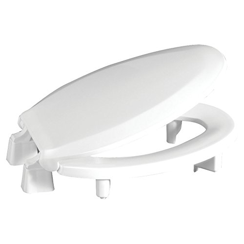 Centoco 3L800STS-001 Plastic Elongated Toilet Seat with Closed Front, White (Seat 001 Toilet)