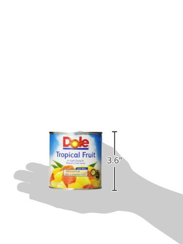 Dole, Mixed Tropical Fruit Syrp Passn Fr, 15.25 Oz