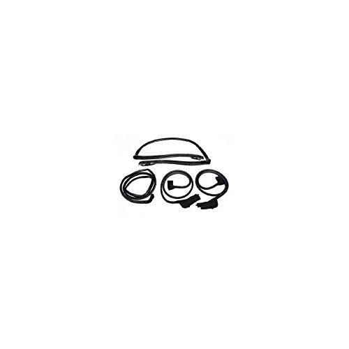 - Eckler's Premier Quality Products 25-175674 -96 Corvette Convertible 4-Piece Body Weatherstrip Kit