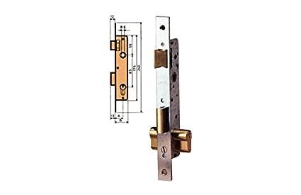 MCM - Cerradura Embutir P/Metalica Mcm