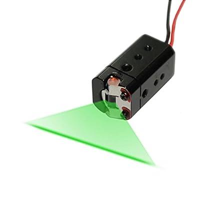 Quarton Laser Module VLM-520-37 LPT (Professional Use Direct Green Laser Line Generator)