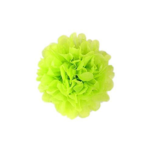 150mm-380mm Pompon Tissue Paper Flower Balls for Wedding