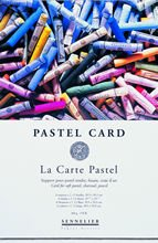 LaCarte Pastel Card Block Twelve 12x15-3//4 Inch Sheets