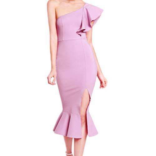 Landfox Dress for Women,Wedding Dress,Fashion Women's Sexy V-Neck Hooded Special Leopard Print Patchwork Mini Dress Purple