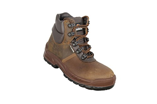 jallatte jalhelgi SAS S3Src Zapatos de seguridad Zapatos de Senderismo, color marrón Marrón - marrón