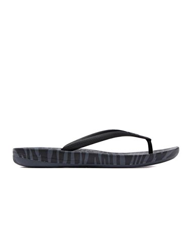 ... Fitflop Womens Iqushion Super-ergonomisk Flip-flops Kull Mix Tiger Print  ...