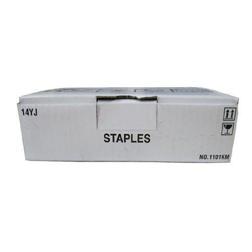 (Genuine KONICA MINOLTA 14YJ /SK701 Staples C6500 /C5501/C5500/C 6501 /KONICA 1050 14YJ Staples 5 rolls of 5,000 each)