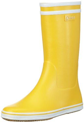 Aigle Damen Malouine Gummistiefel Gelb (jaune/blanc) 40 EmVZnDdqyE