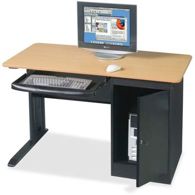 Balt Metal Workstation - BLT89843 - Balt Locking Computer Workstation