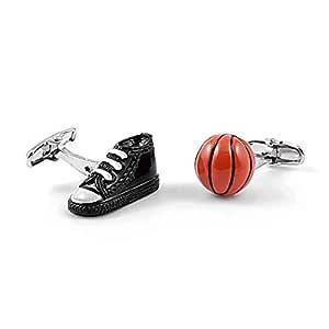 LA BELLE MANCHETTE Gemelos de Zapato y balón de Baloncesto: Amazon ...