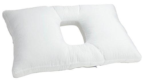 Customizable Medical Orthopedic Pillow. Patented and Created by doctors for proper sleep, comfort and health. Zippers and chambers for adjustable fill amount. PillowMed by PillowMed