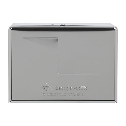 Georgia-Pacific 56720 Chrome Singlefold Paper Towel Dispenser, 10.5