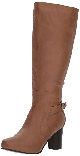 Image of Brinley Co Women's Jimmi Engineer Boot Regular & Wide Calf