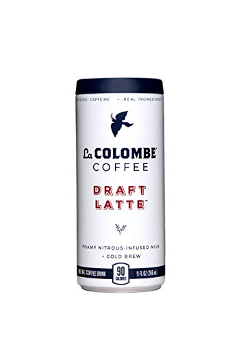 La Colombe Draft Latte - 9 Fluid Ounce, 16 Count - Cold-Pressed Espresso and Frothed Milk - Made With Real Ingredients - No Sugar Added - Grab And Go ()