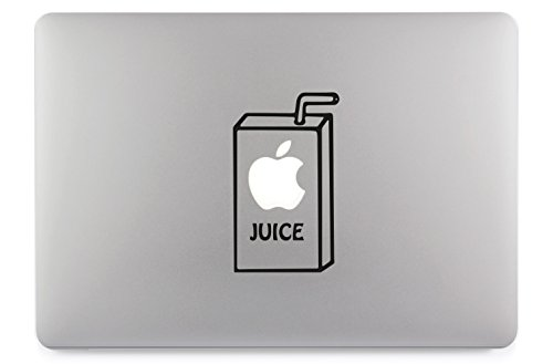 Apple Juice Apfelsaft Apple MacBook Air Pro Aufkleber Skin Decal Sticker Vinyl (13