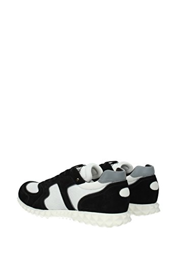 Herren 0S0A40TDG EU Valentino Garavani Sneakers Schwarz Stoff aqxwHPTC1