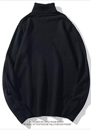 セーター メンズ ニット トレーナー パーカー 長袖 ハイネック トップス 重ね着風アウター トレーナーセーター 秋冬 14.2oz 厚手 無地 ゆったり 原宿風 韓国風 フェミニン プルオーバー シンプル