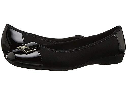 Anne Klein Women's UNA Black Multi Fabric Shoe