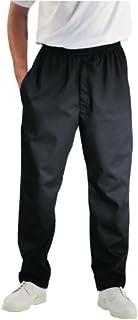 Chef Works a029-s Easyfit pantaloni, nero