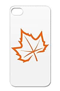 Autumn Leaf Weather Maple Fall Nature Seasons Nature Ecology Animals Environment Canada Bronze TPU For Iphone 4s Case