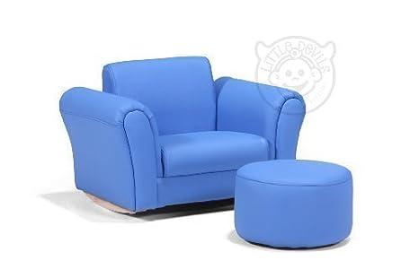 Sofa sillon LAZYBONES NIÑOS para niños azul: Amazon.es: Hogar