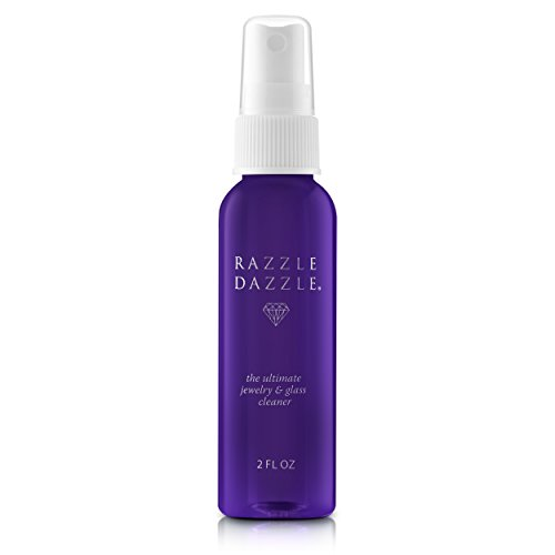 Razzle Dazzle Jewelry, Watch & Glass Cleaner Travel Spray Bottle, 2 oz. by Razzle Dazzle