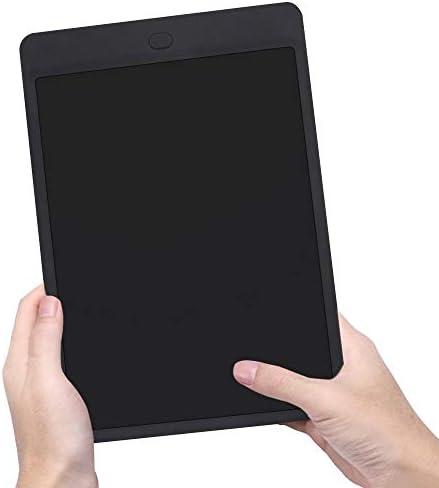 YKAIEET ロックLCDライトエネルギーの子供の製図板LCDの執筆板が付いている12インチLCDのタブレットは軽いおもちゃと描きます (色 : ブラック)